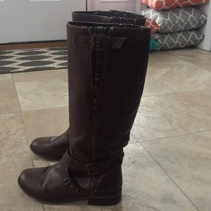 Guess brown riding boots